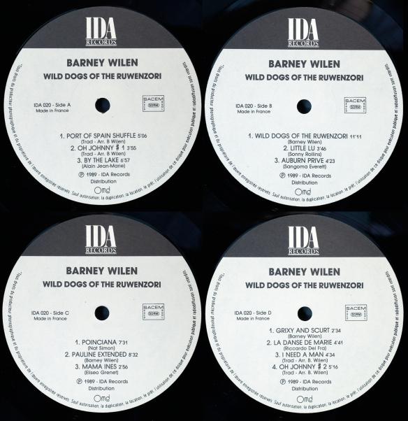 Wild Dogs - double album labels