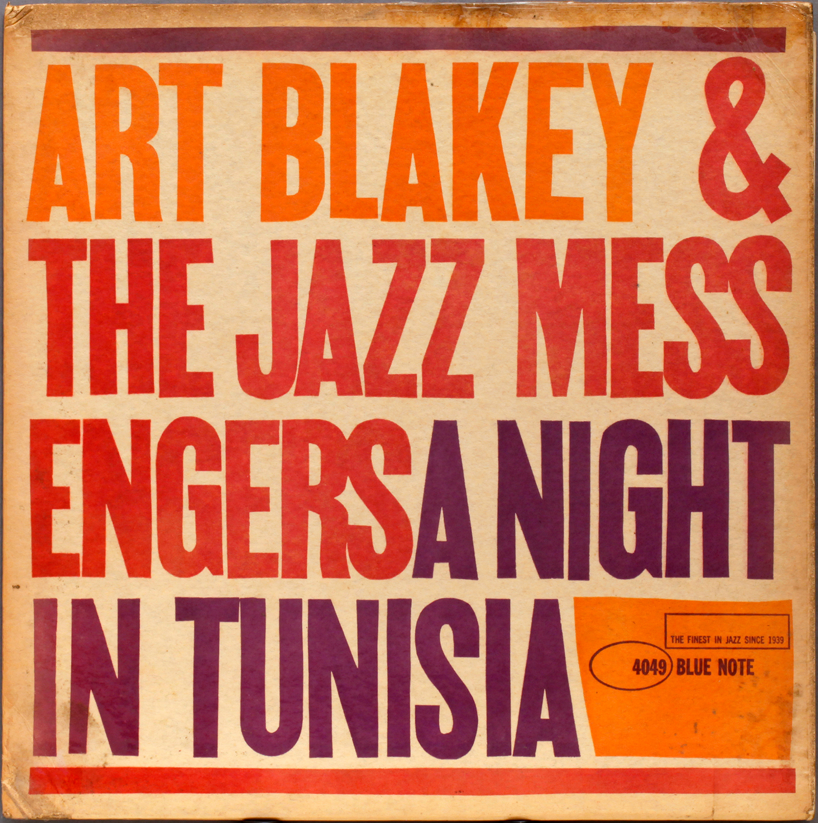 Art Blakey Night In Tunisia 1960 Londonjazzcollector