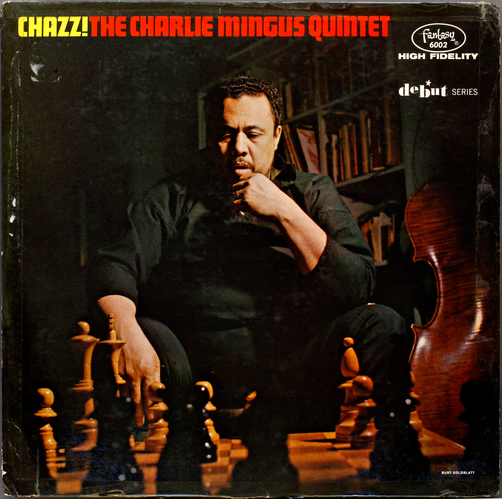 Charles Mingus Chazz 1955 Londonjazzcollector