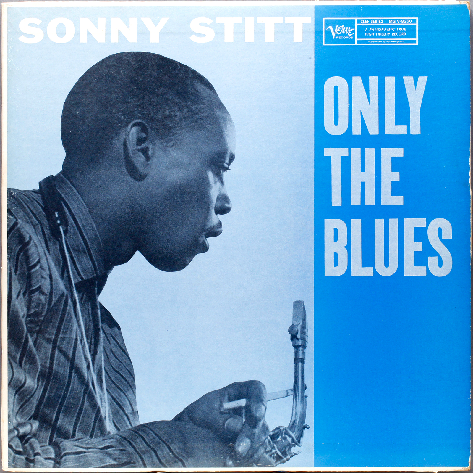 Sonny Stitt Only The Blues 1957 Londonjazzcollector