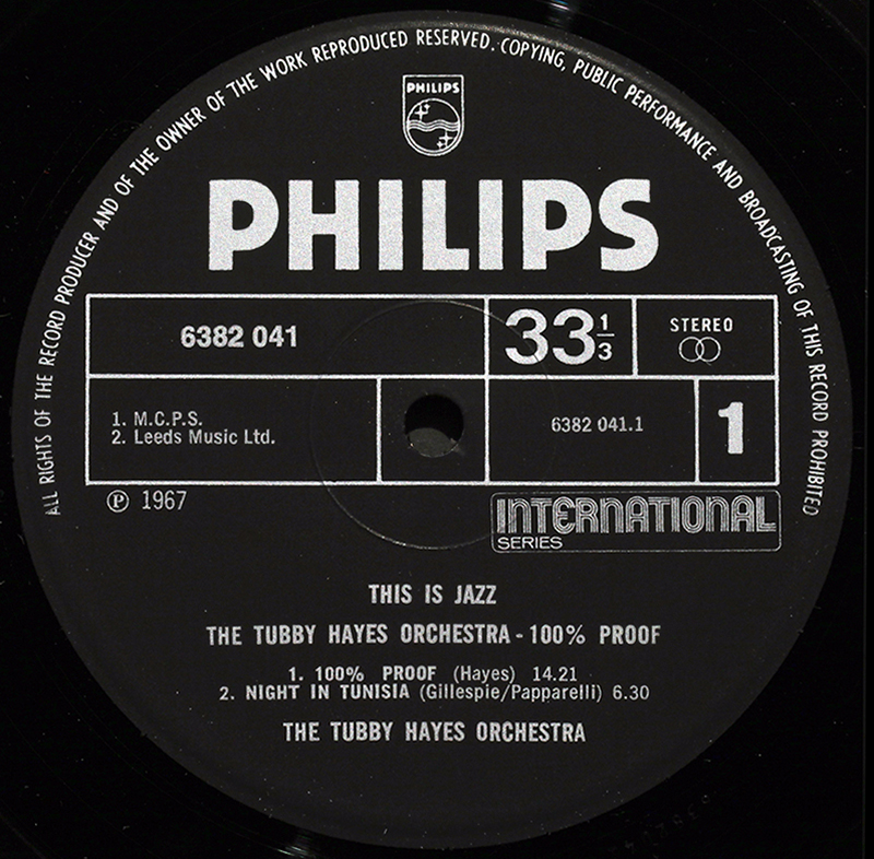 Philips Londonjazzcollector
