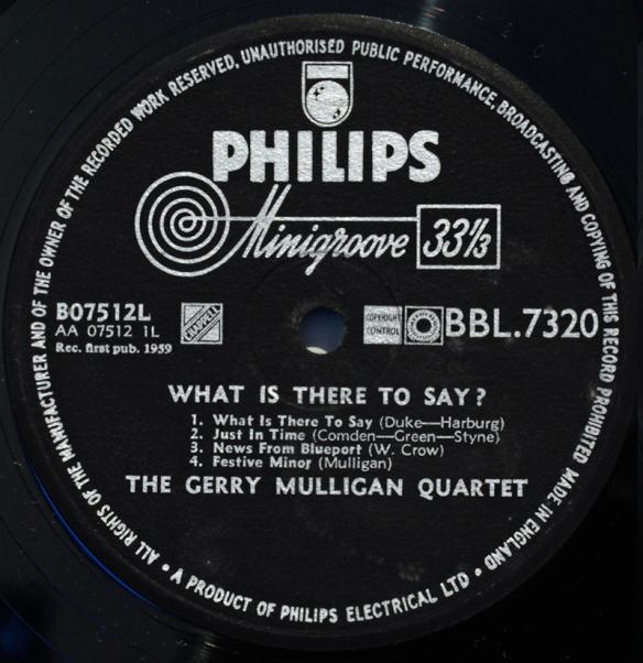 Philips Londonjazzcollector
