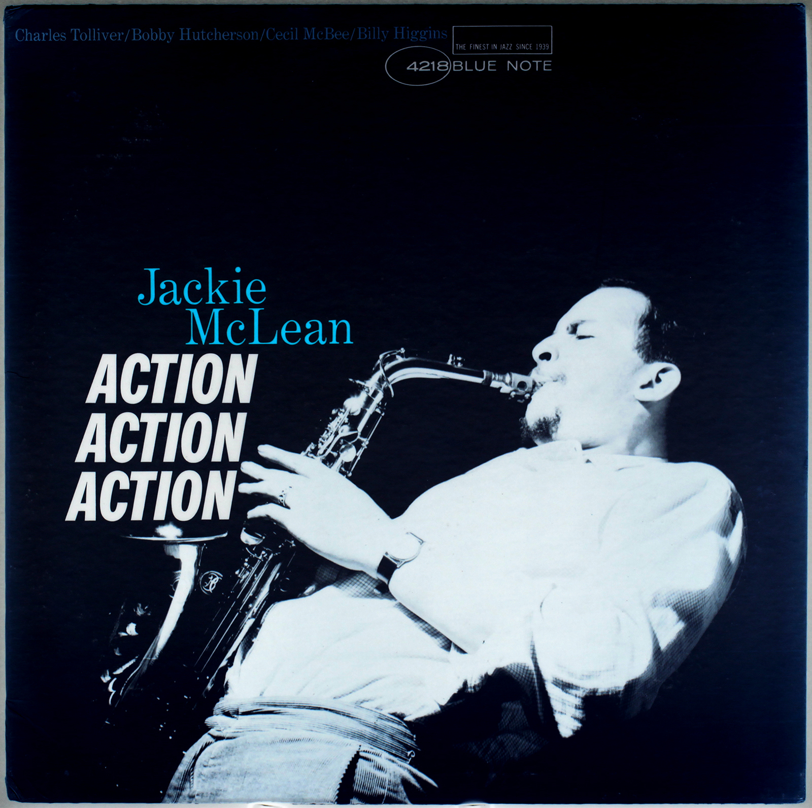 Jackie Mclean Action 1964 Liberty Blue Note