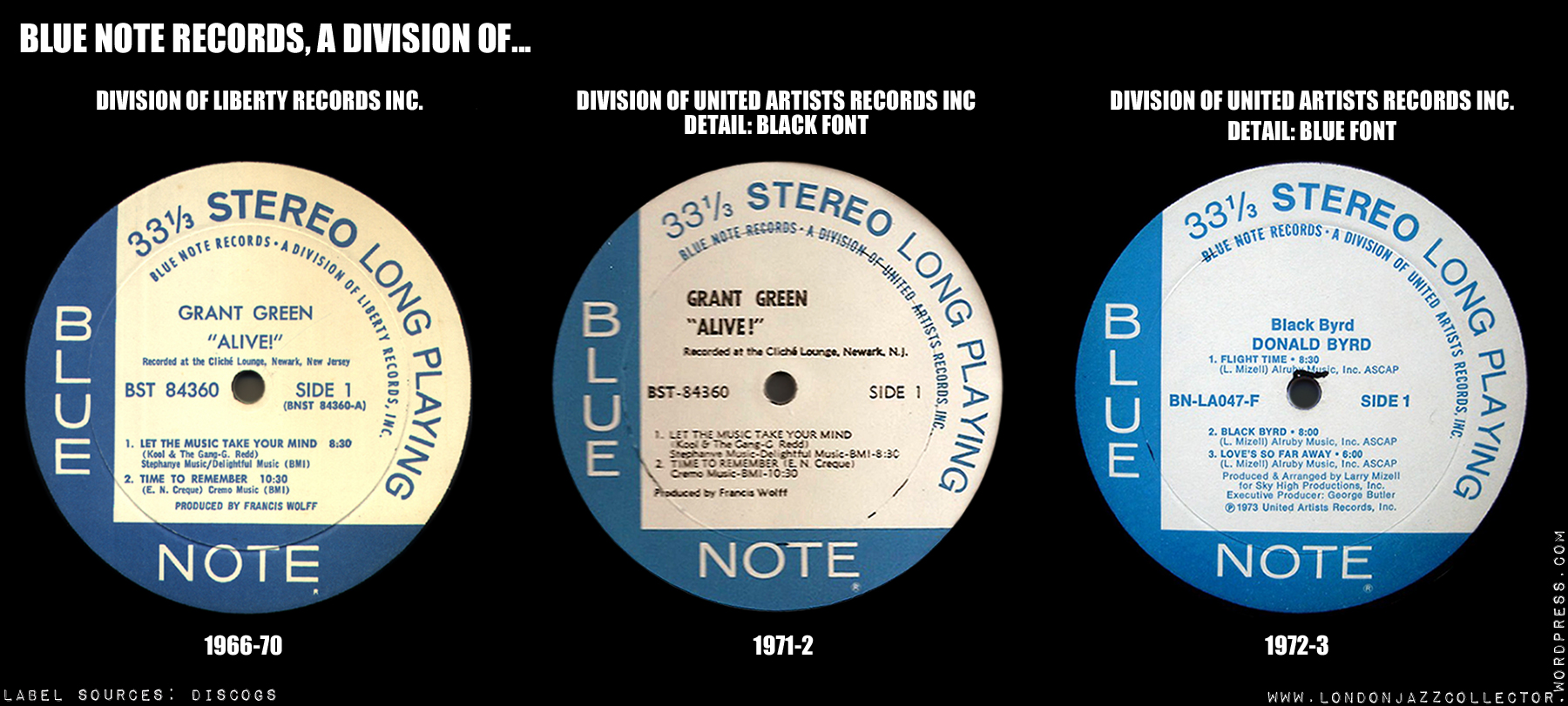 blue note records  united artists era  1970