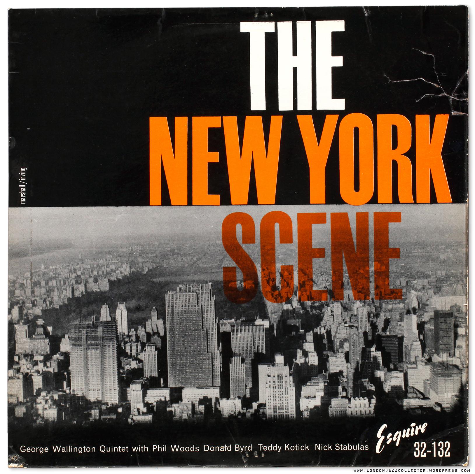 George Wallington New York Scene 1957 New Jazz Esquire