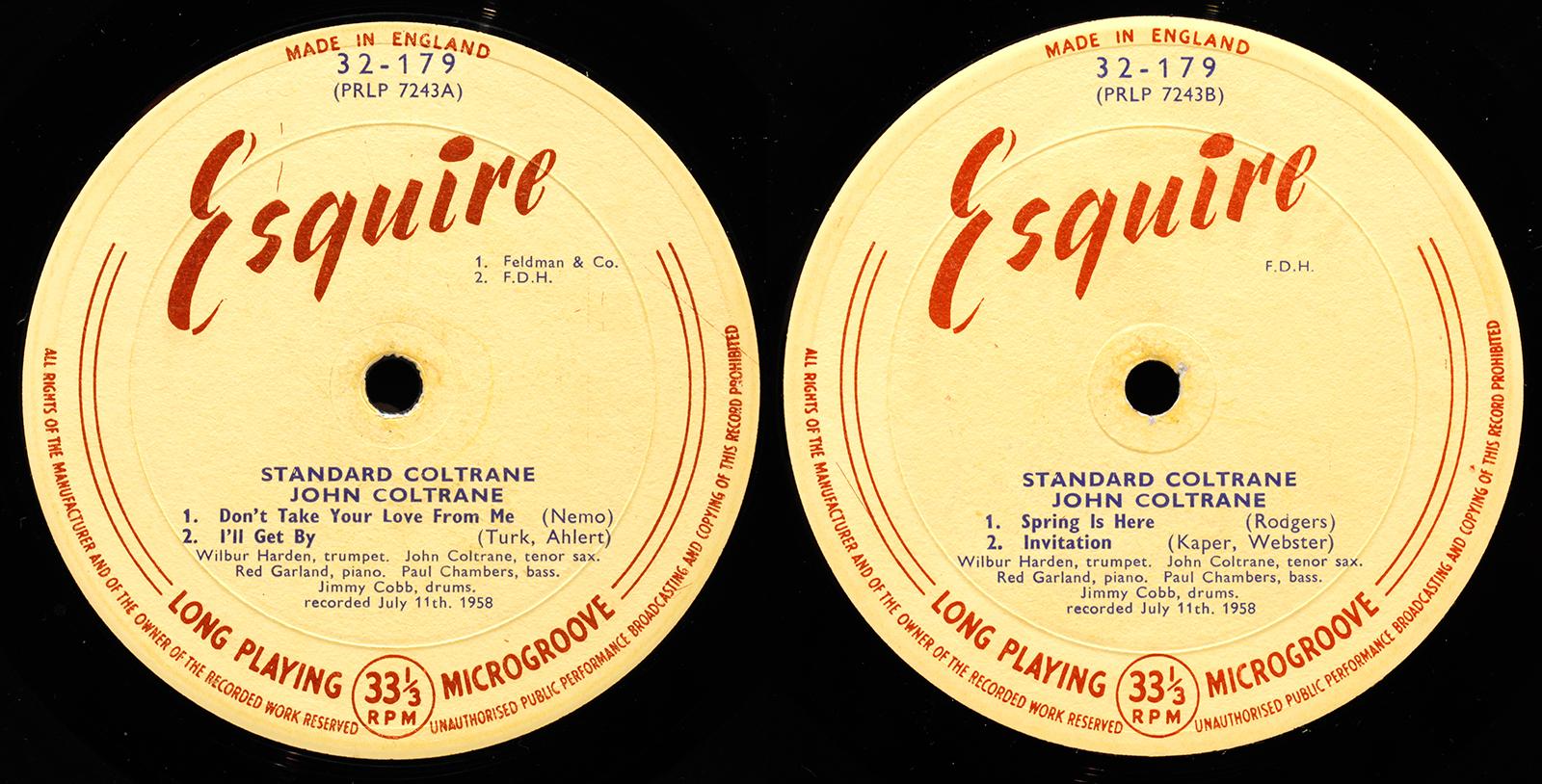 John coltrane standard coltrane 1958 londonjazzcollector machine stopboris Gallery