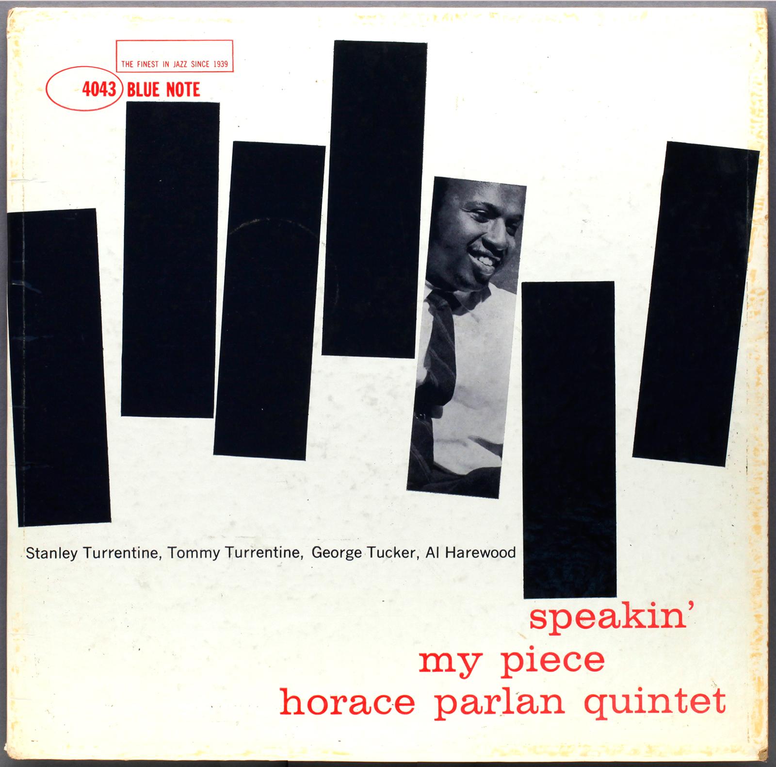 Horace Parlan Speakin My Piece 1960 Blue Note