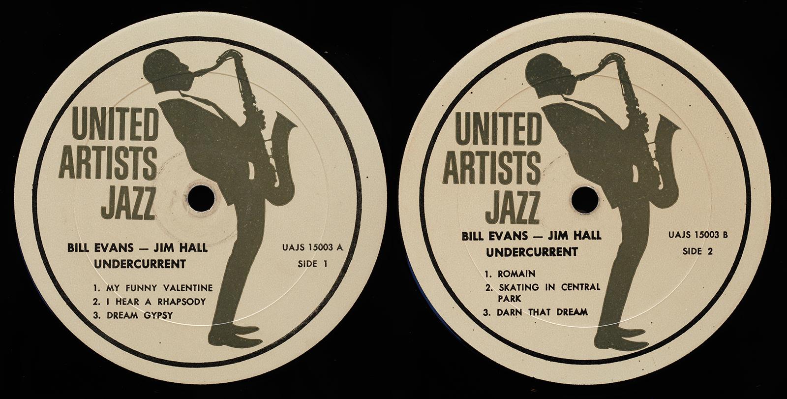 Bill Evans Jim Hall Undercurrent 1962 United Artists