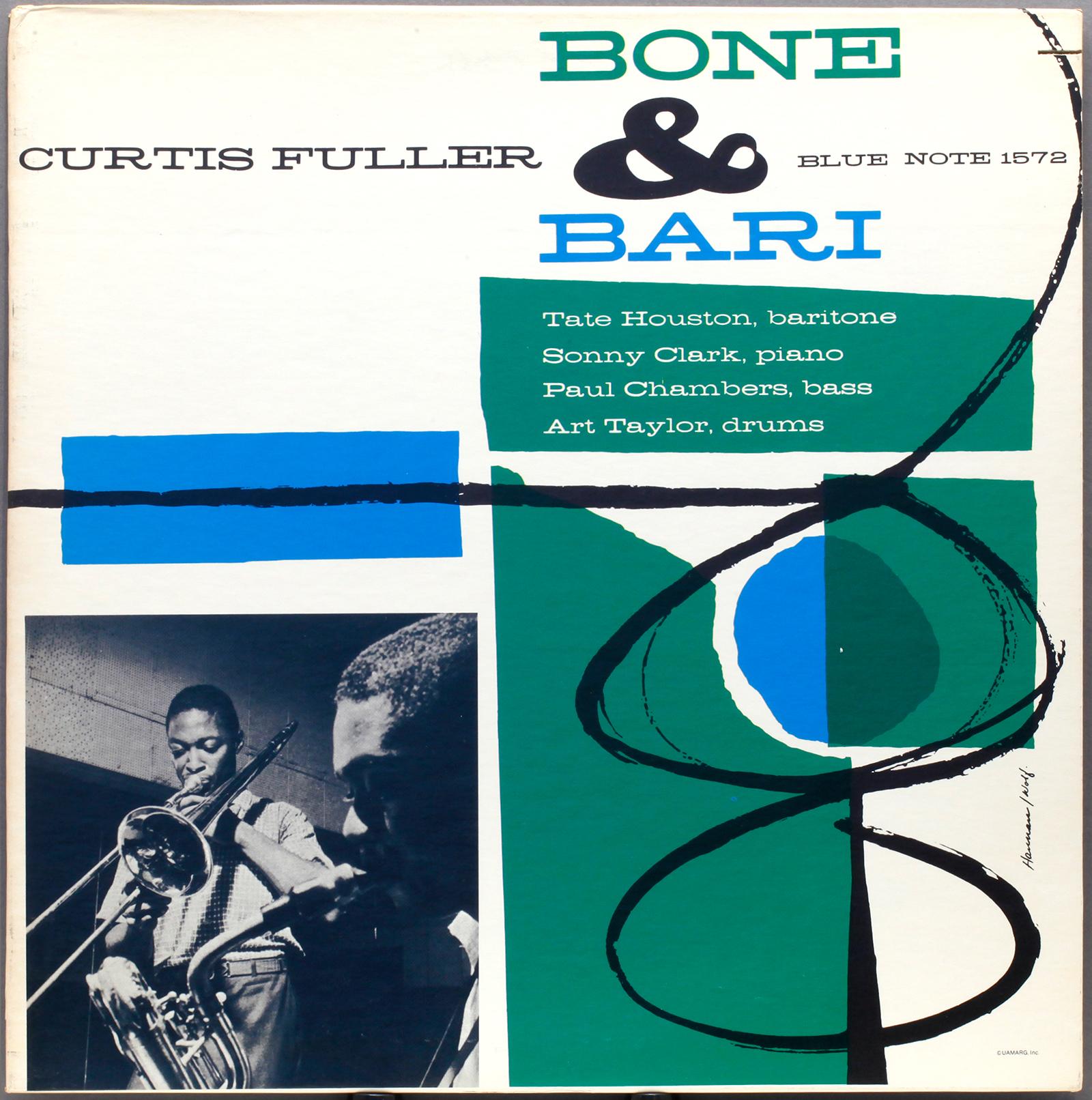 Curtis Fuller Bone And Bari 1957 Divua Londonjazzcollector