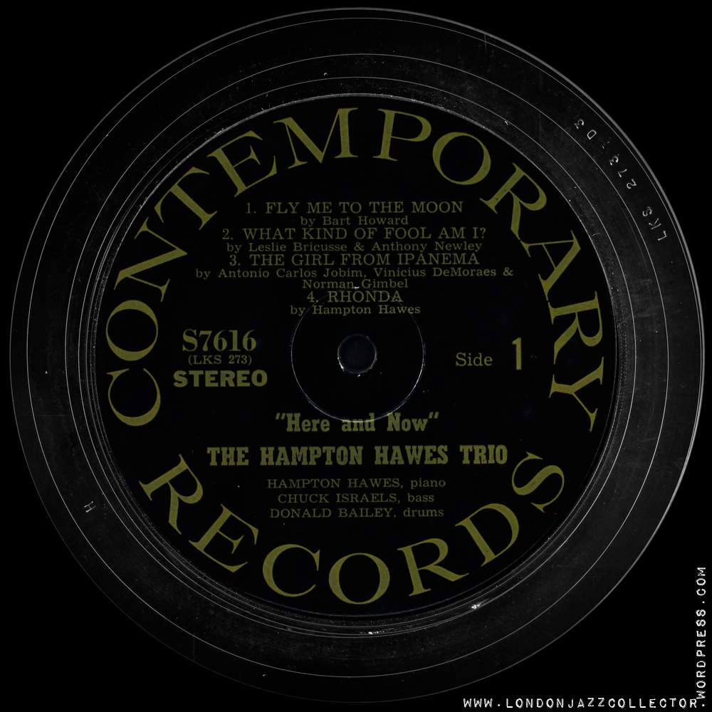 Contemporary Records Label Guide