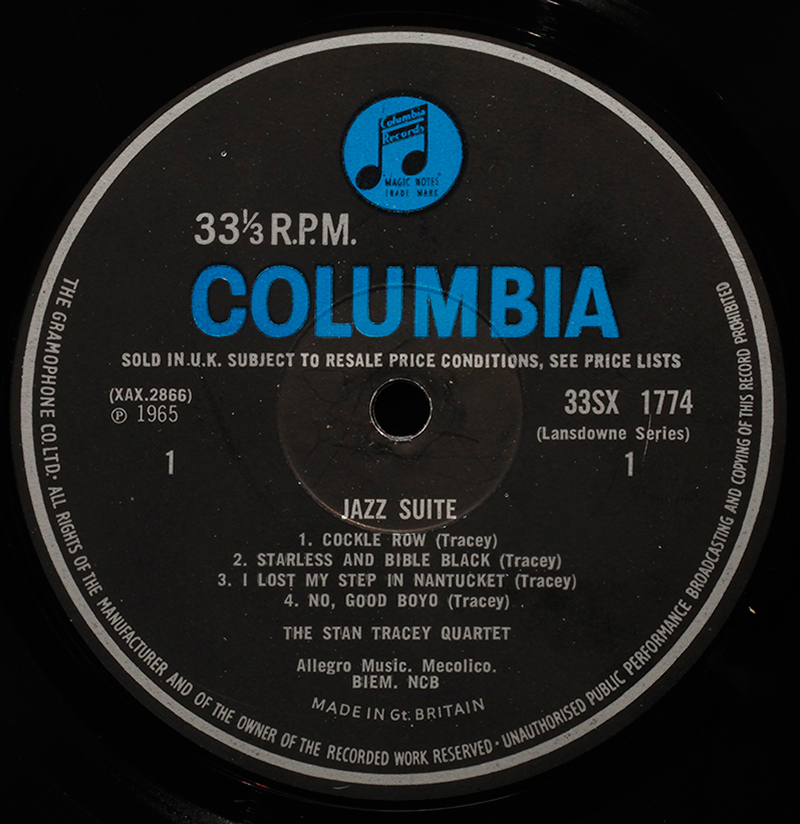 Columbia uk and europe londonjazzcollector for Classic house record labels
