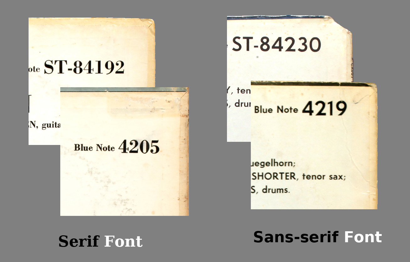 Blue Note typography: fonts and typesetting | LondonJazzCollector