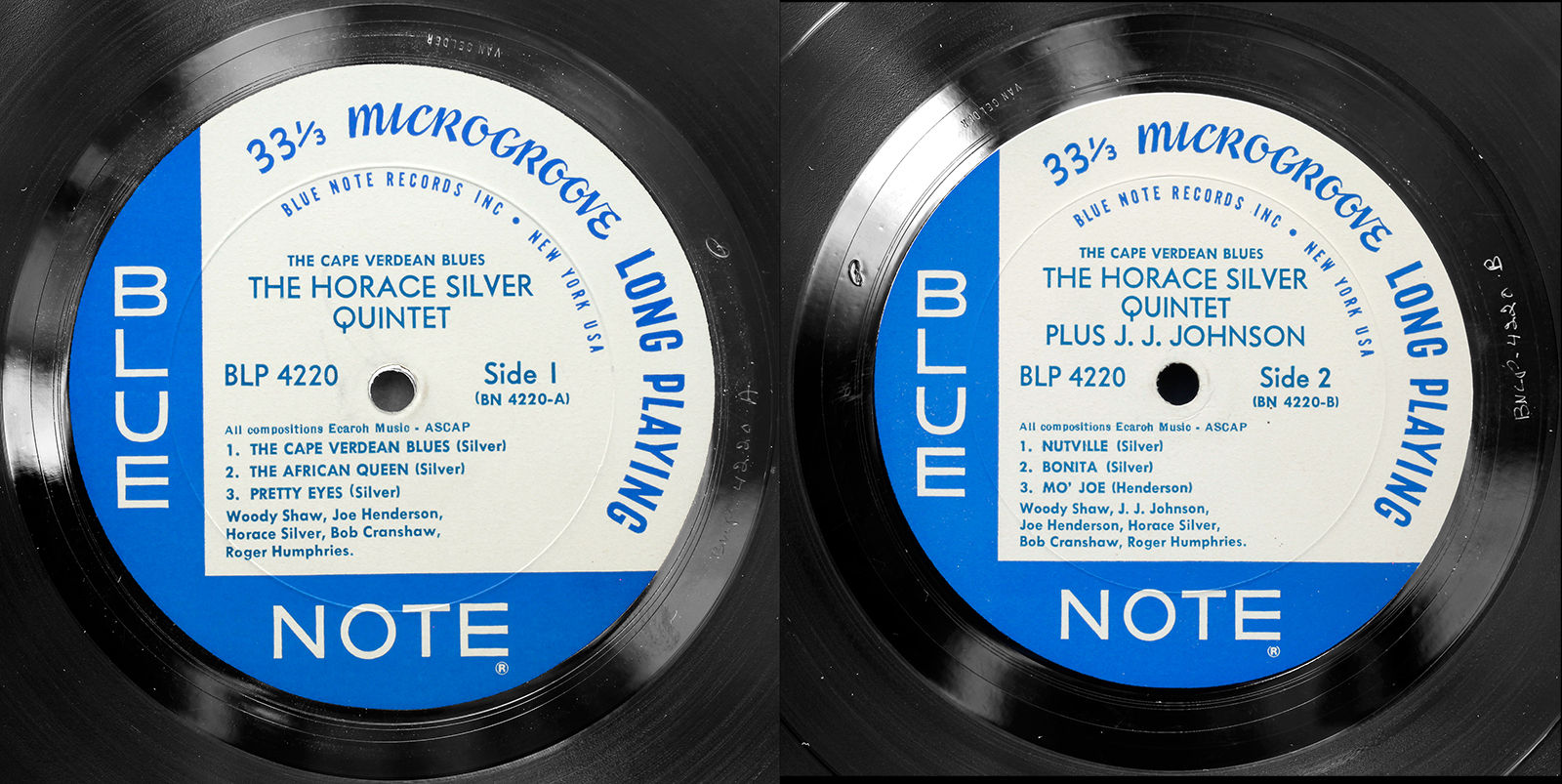Horace Silver The Cape Verdean Blues 1965 Blue Note