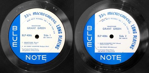Grant Green Grantstand 1961 Blue Note Londonjazzcollector