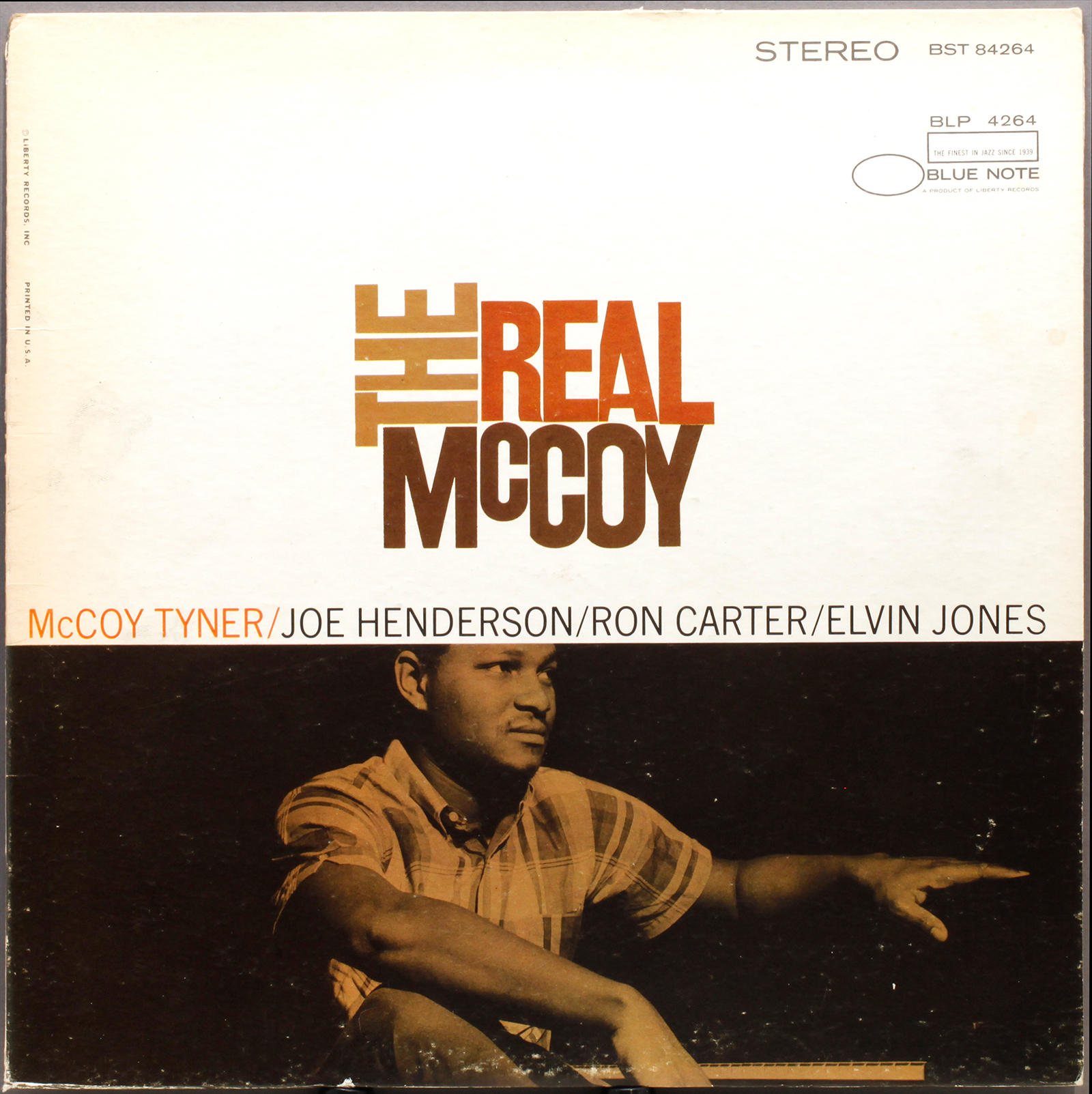 Mccoy Tyner The Real Mccoy 1967 Liberty Blue Note