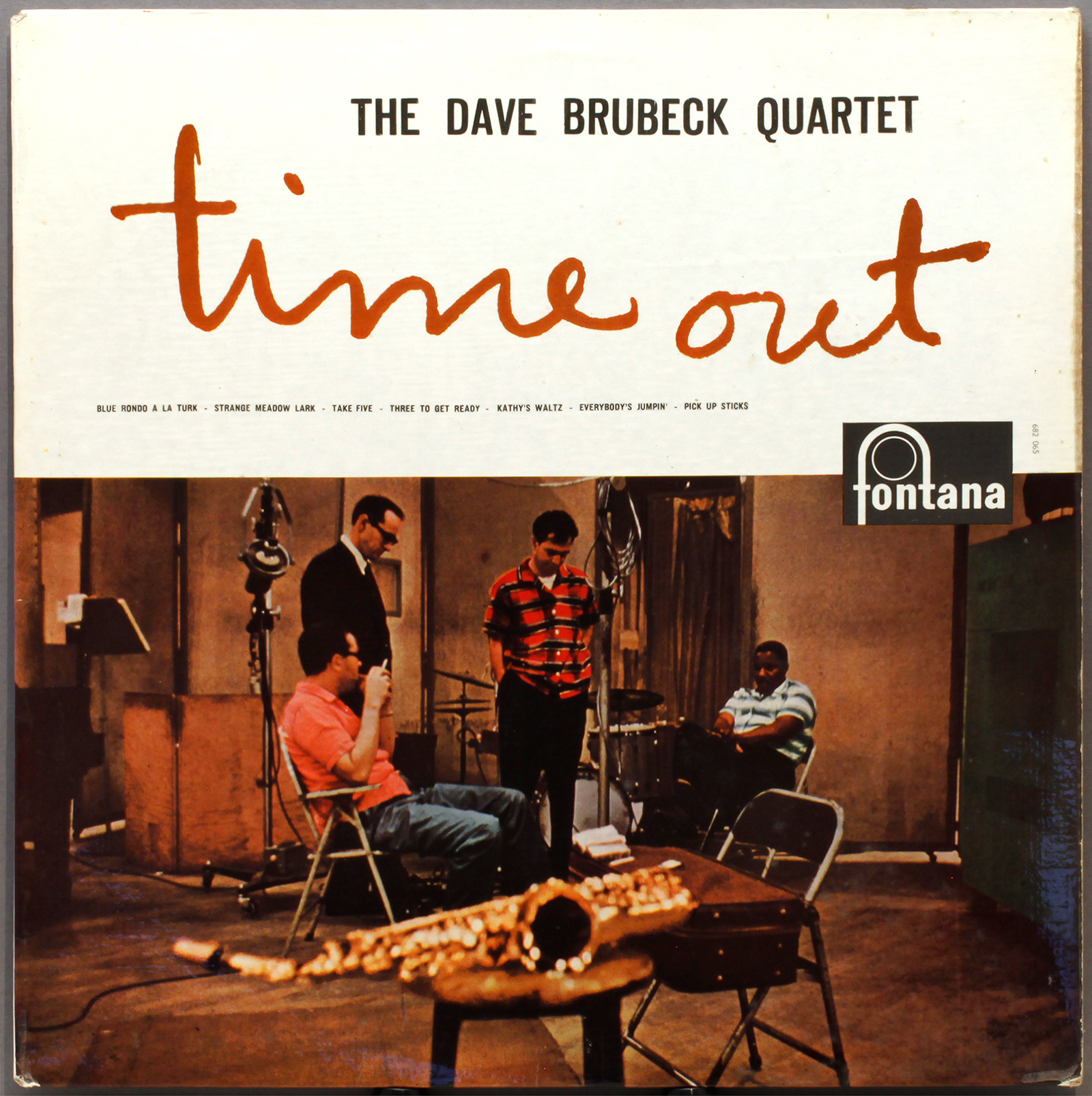 Dave Brubeck Quartet Featuring Paul Desmond Jazz At The College Of The Pacific