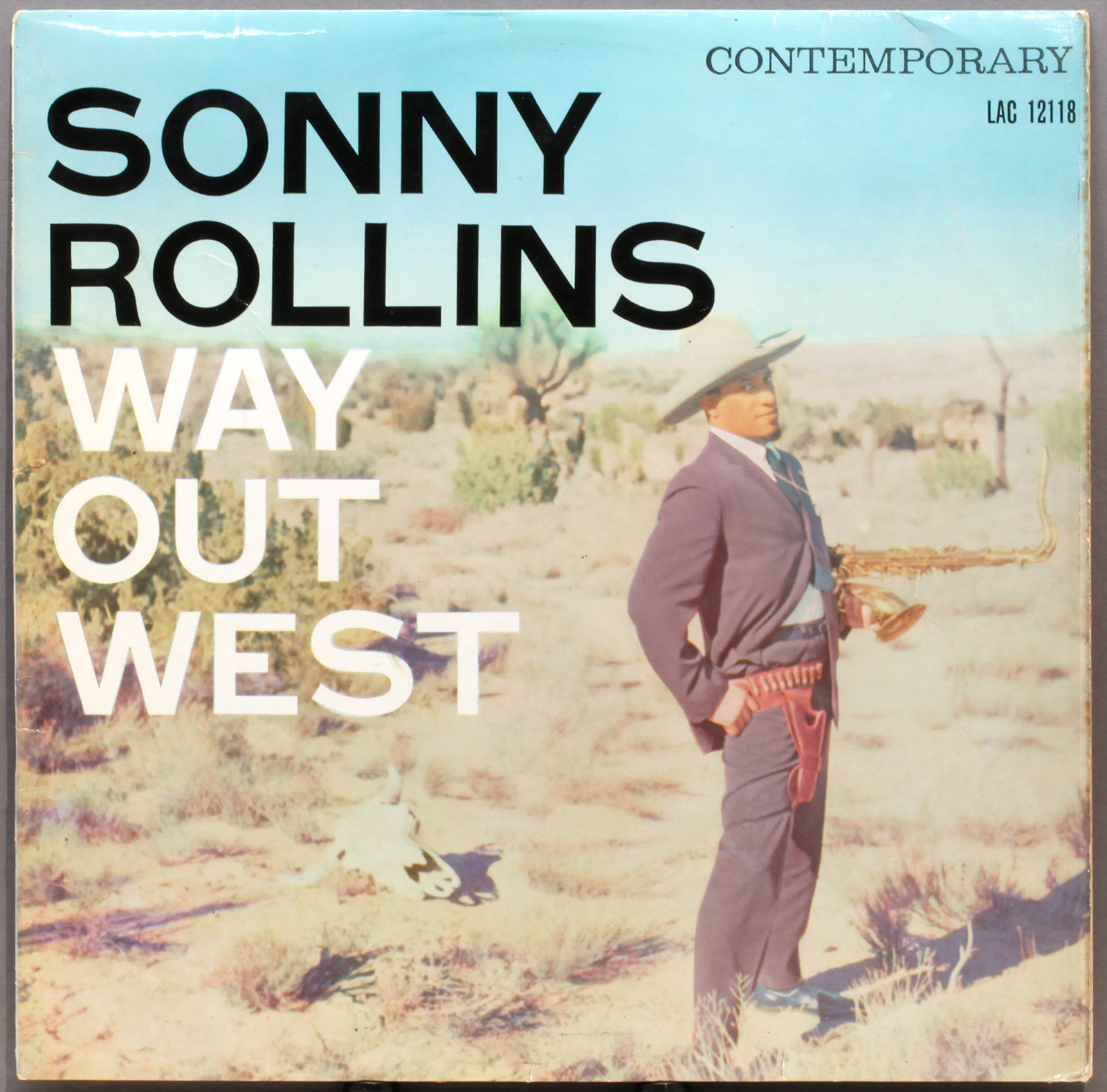 Sonny Rollins Way Out West 1957 Contemporary Vogue