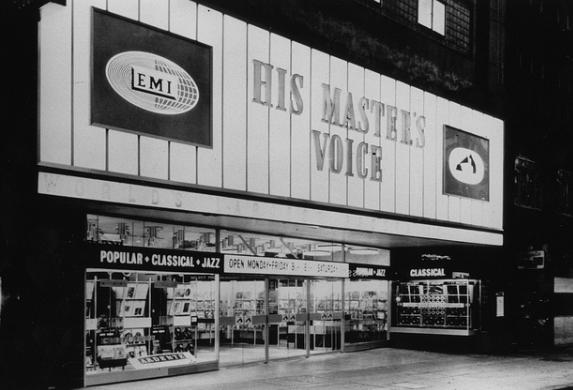 Old HMV Oxford Street store