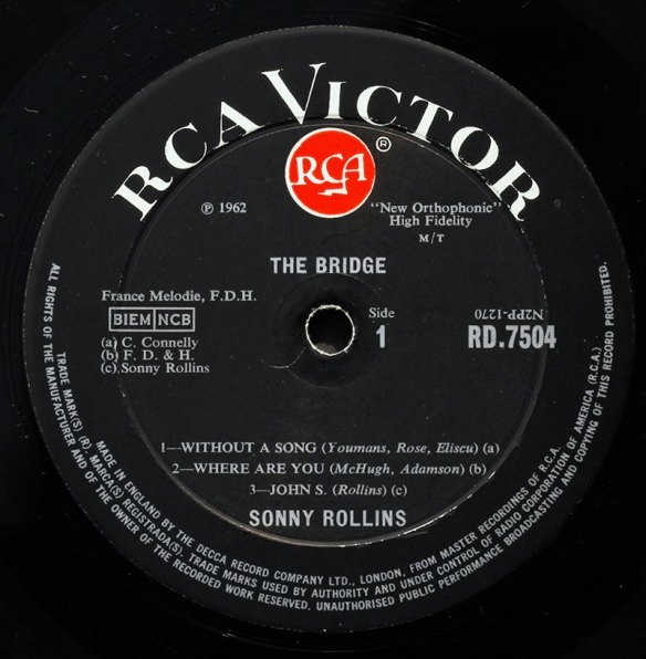 Rca Victor Uk Europe And Japan Londonjazzcollector