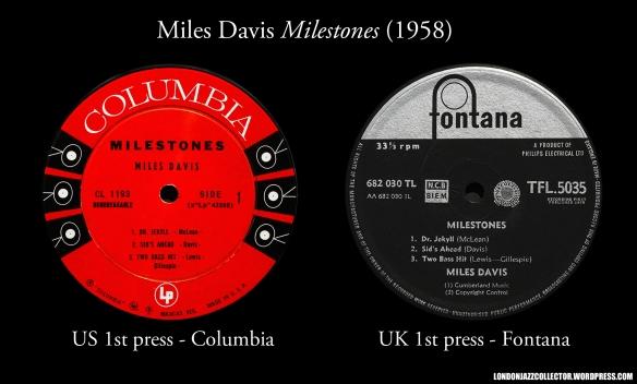 Miles-Dacvis-Milestones-US-and-UK-1st-Press-1958