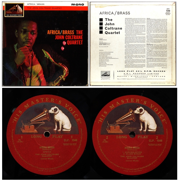 Impulse Coltrane On Uk Hmv Londonjazzcollector