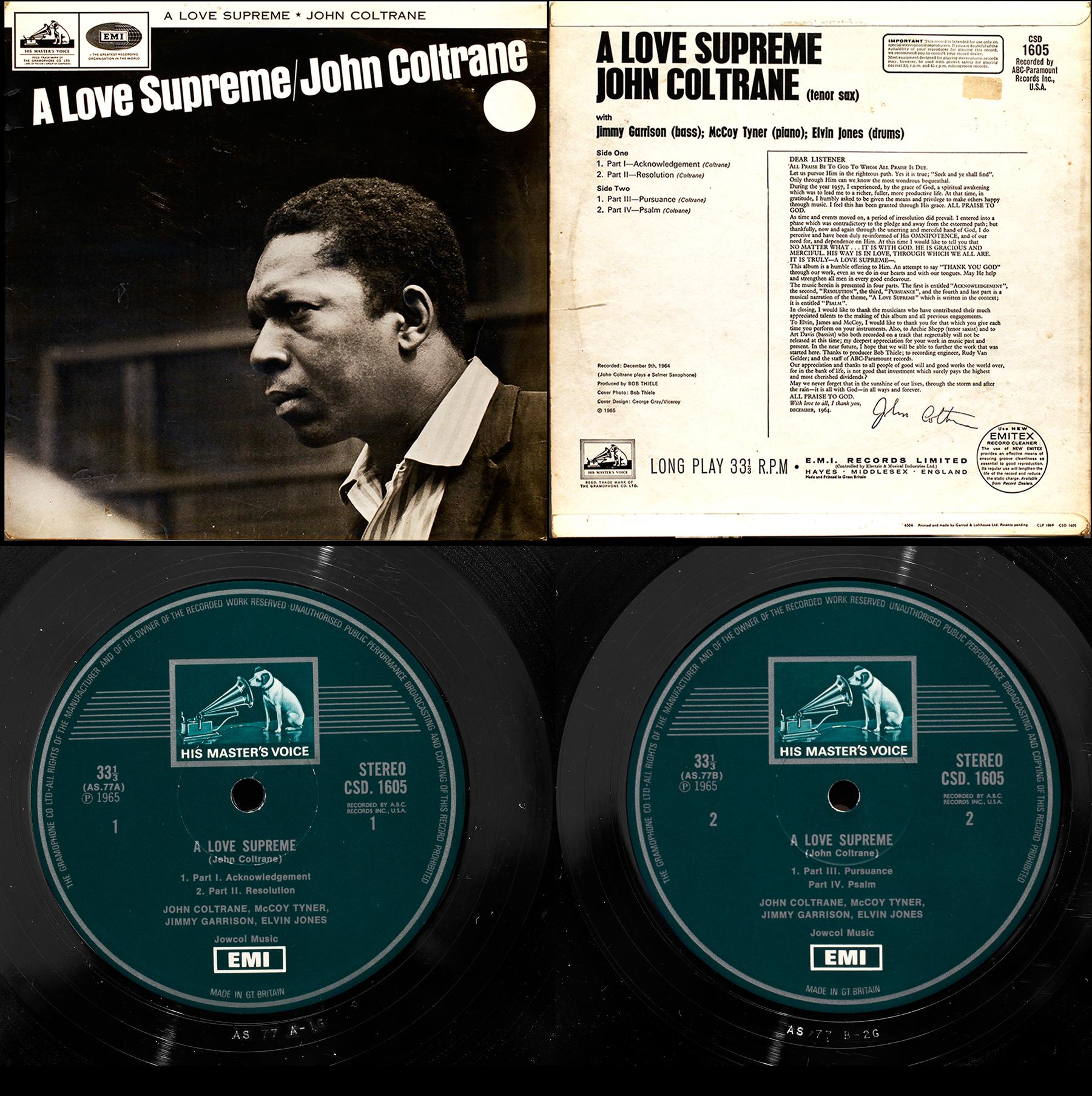Impulse Coltrane On Uk Hmv Londonjazzcollector