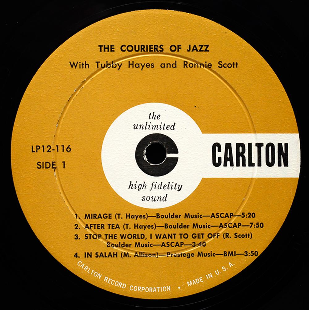 Orange pop records s profile hear the world s sounds - Carlton Label 1000