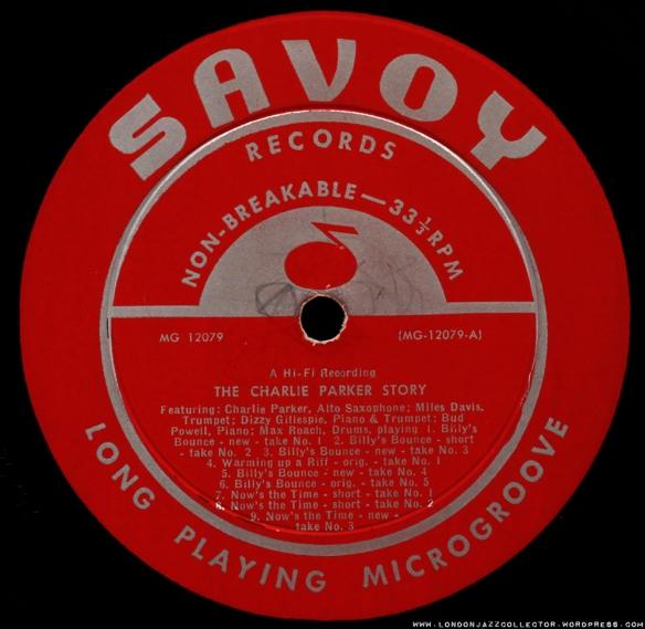 Savoy - label 1000 LJC