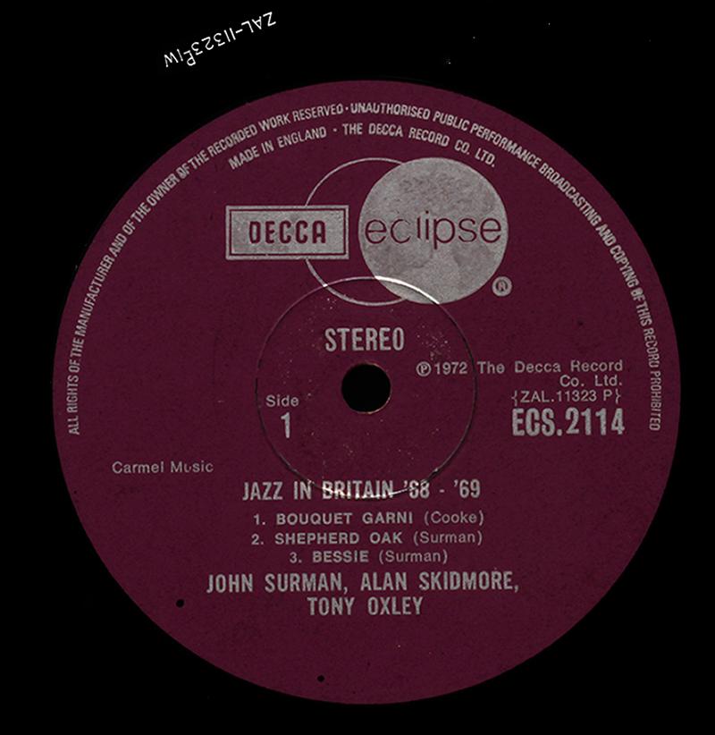 Decca | LondonJazzCollector