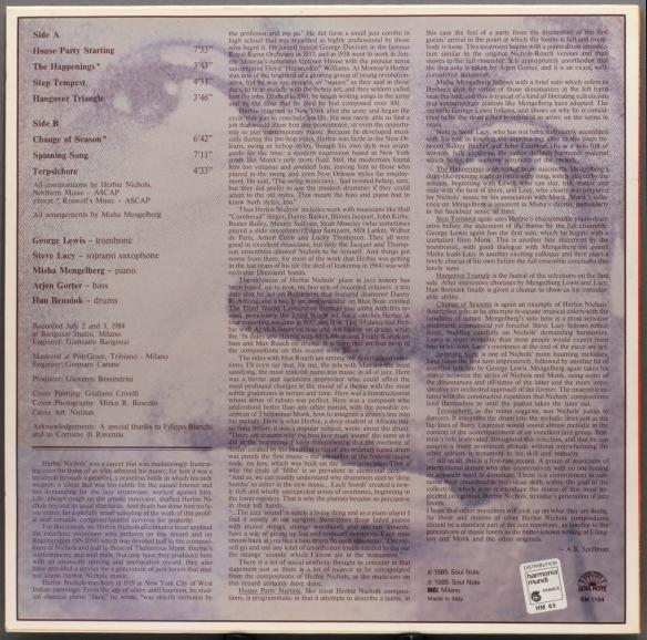 Misha-Mengelberg--rearcover-1800