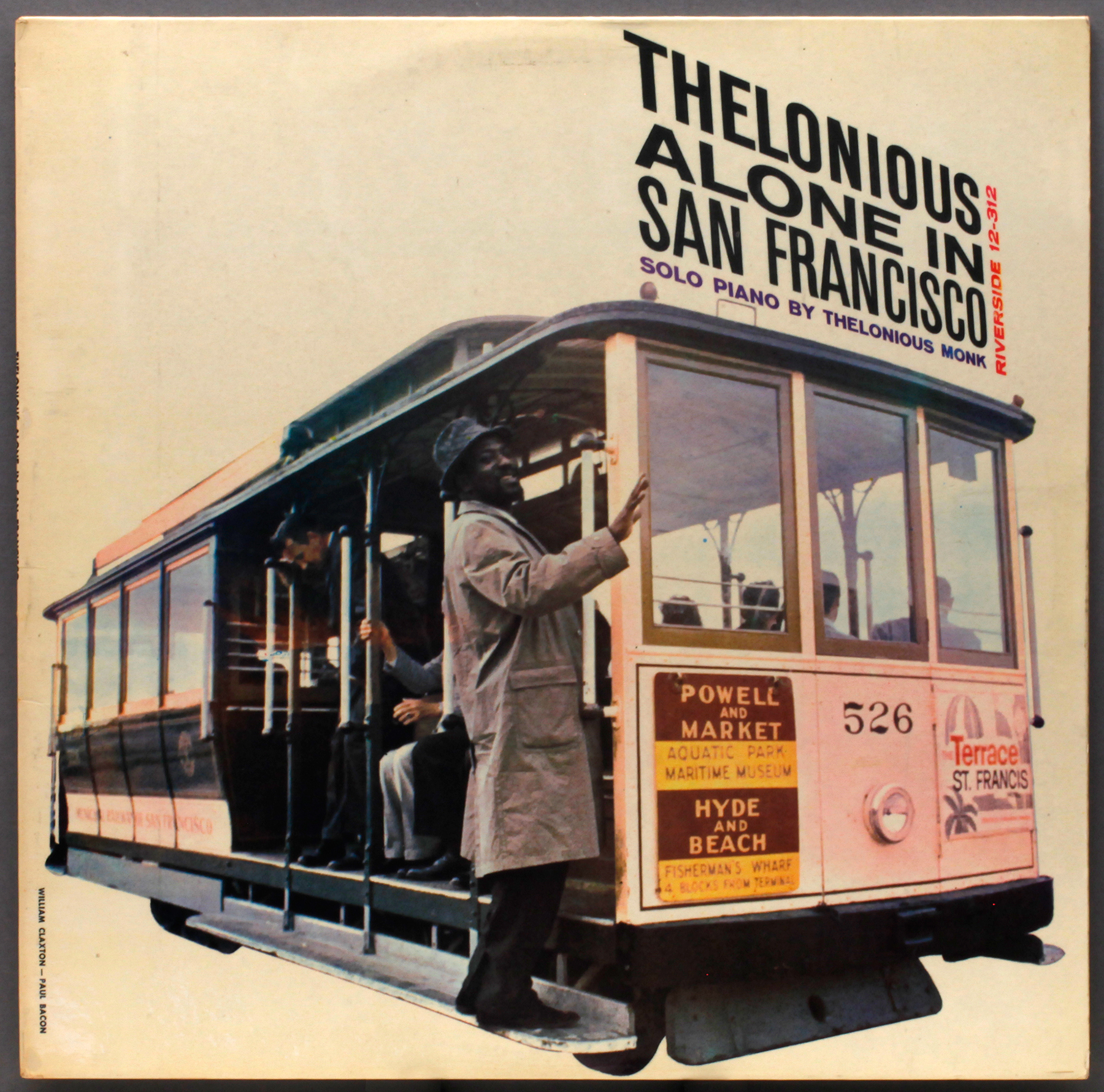 Thelonious Monk Alone In San Francisco 1959 Riverside