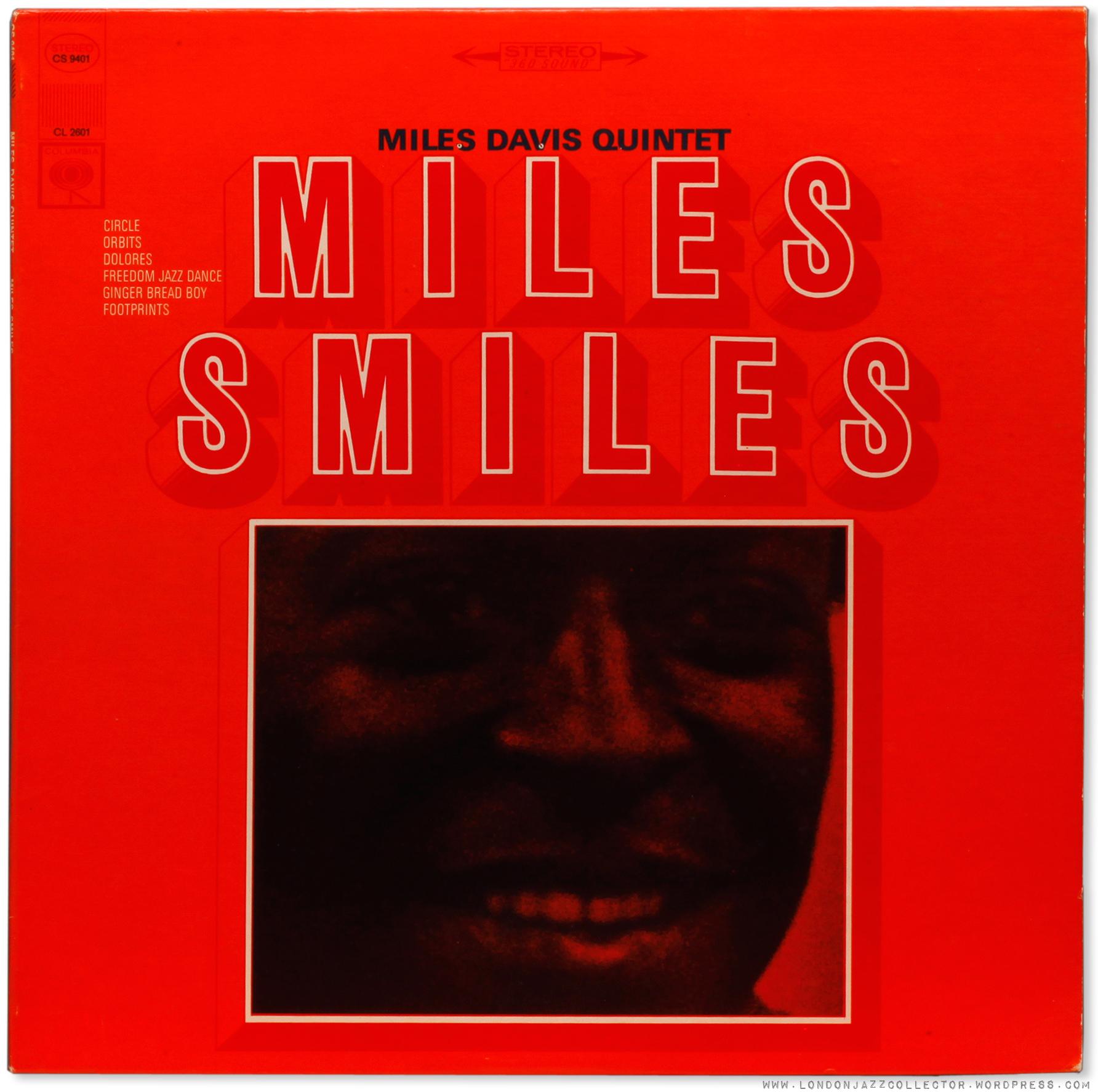 Miles Davis: Miles Smiles (1966) Columbia ...