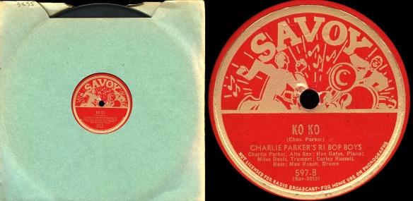 Savoy-597--Parker-Ko-Ko-78rpm-master