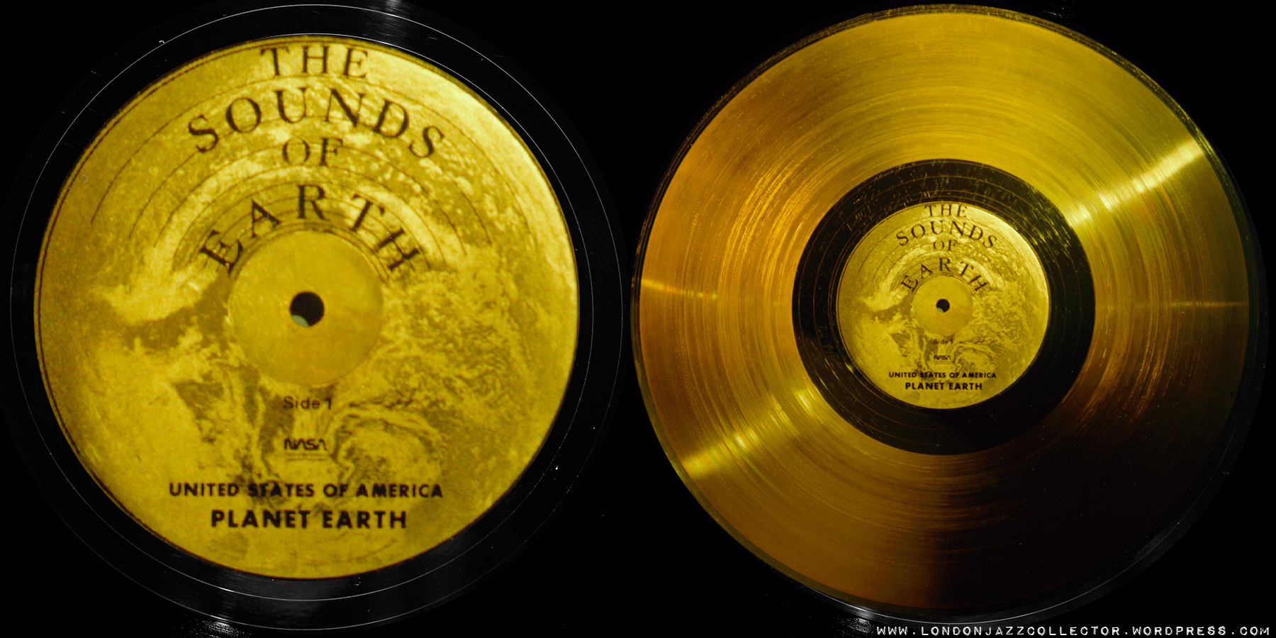 Voyager Golden Record 1977 Londonjazzcollector