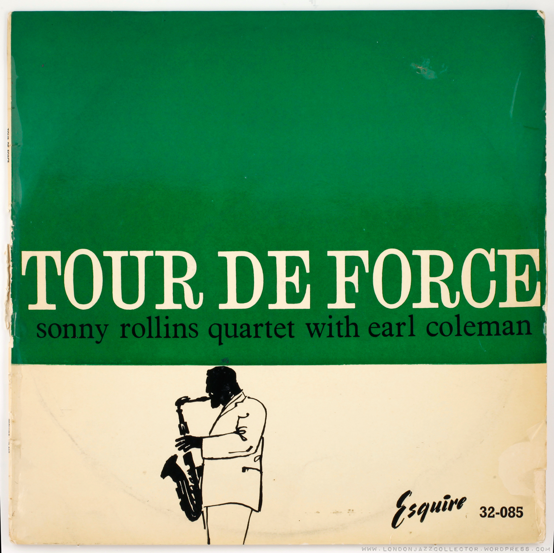 Sonny Rollins Tour De Force 1956 Esquire Updated