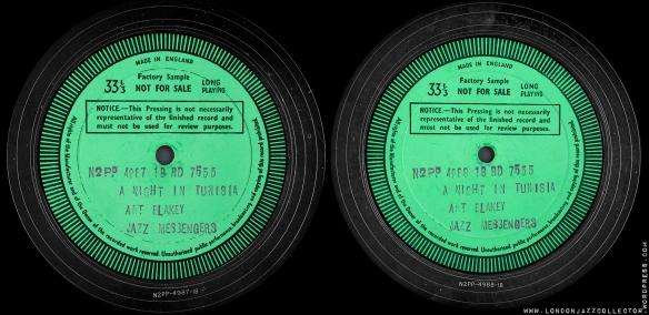 Art-Blakey-A-Night-in-Tunisia-labels--RCA-Victor-mono-Decca-Test-Pressing-labels-1800-LJC
