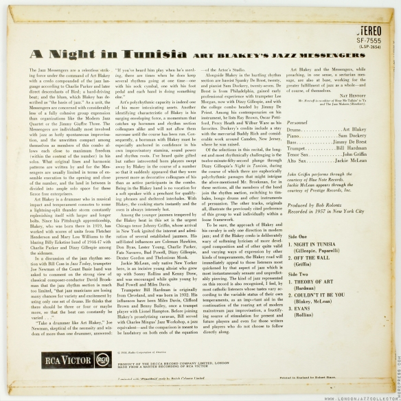 Art-Blakey-A-Night-in-Tunisia-rear-cover-RCA-Victor-Stereo--1800-LJC