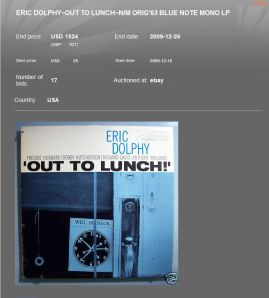 Dolphy Out to Lunch 1524 USD Capture