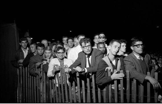 Newport Jazz Festival 1958 audience magnum