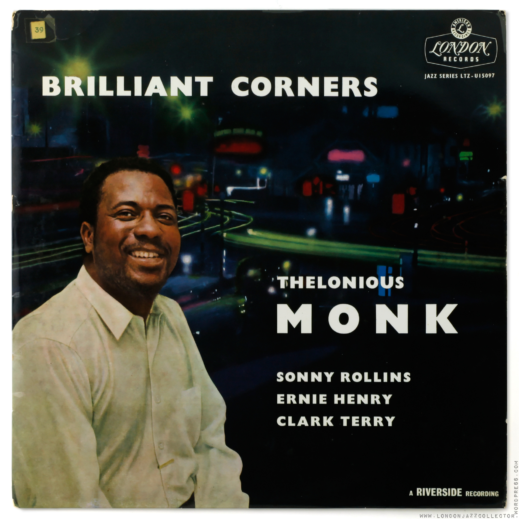 Thelonious Monk Brilliant Corners 1956 New Malden V New
