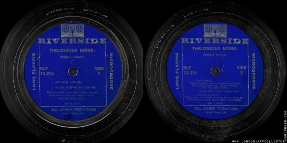 Thelonious-Monk-Brilliant-Corners-Riverside-RLP-226-labels-Research-Craft-LA-1800-LJC