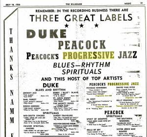 Duke Paecock Progressive Jazz 500