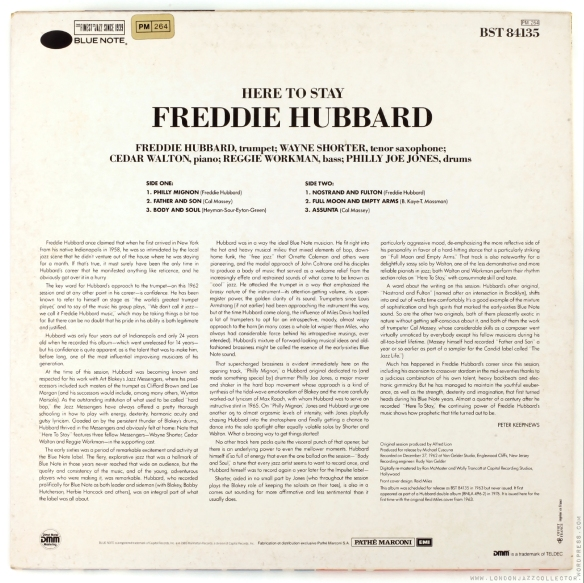 Freddie-Hubbard-Here-to-Stay-rearcover-1800-LJC