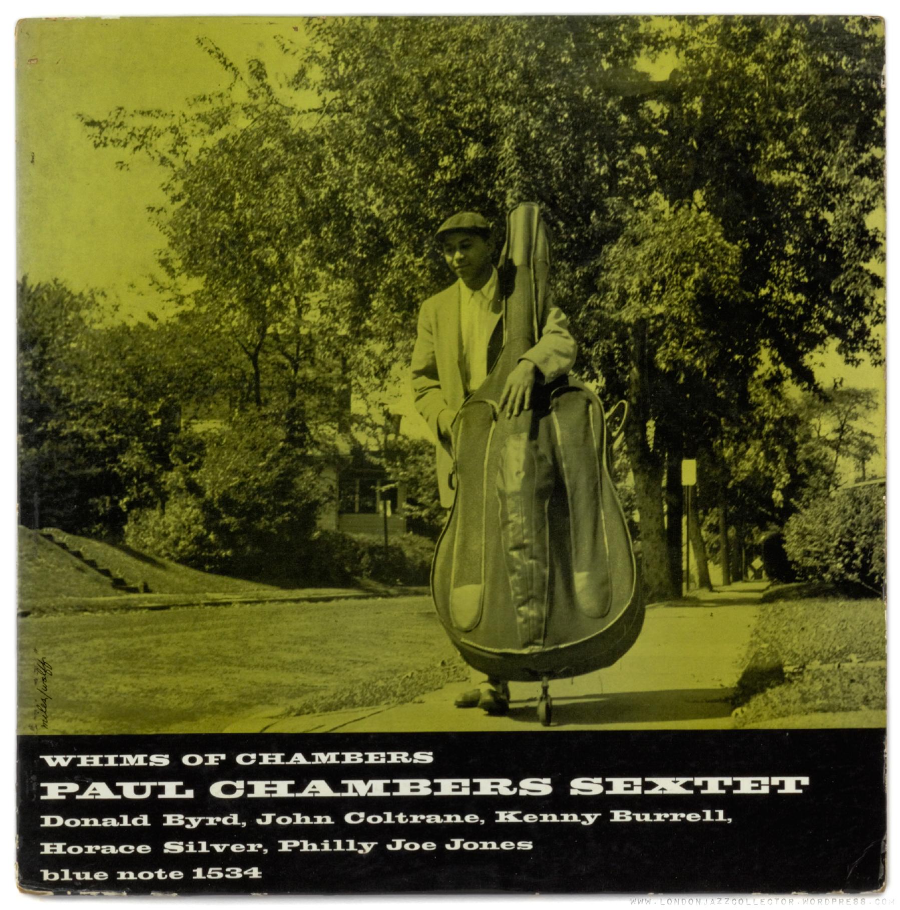 Paul Chambers Whim Of Chambers 1956 Blue Note