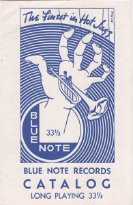 Blue Note Catalogue cover