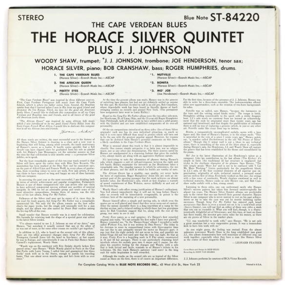 Horace-Silver-Capee-Verdean-Blues-Stereo-backcover-1800-LJC