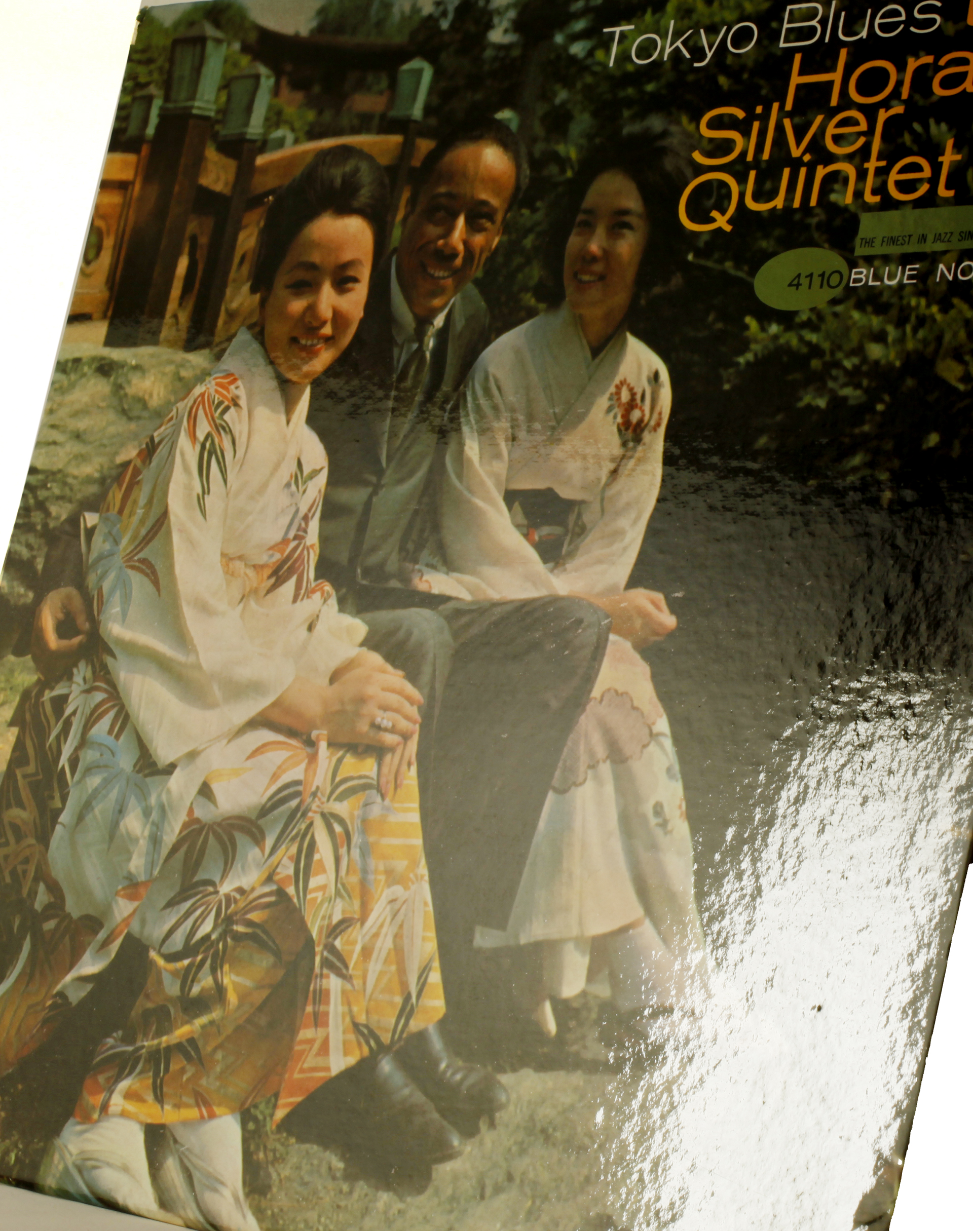 Horace Silver laminated cover Tokyo Blues