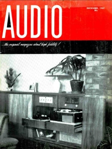 Audio December 1957 cover