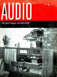Audio December 1957 cover