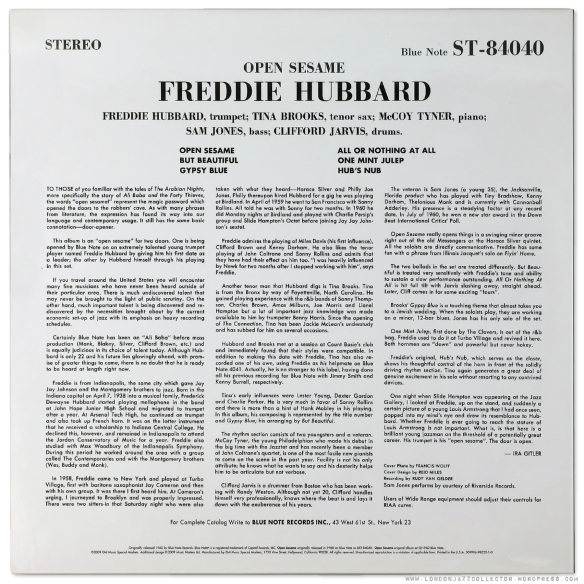 Freddie-Hubbard-Open-Sesame-MM45-back-cover